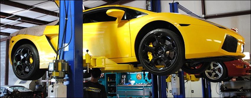 Factory Scheduled Maintenance Lamborghini