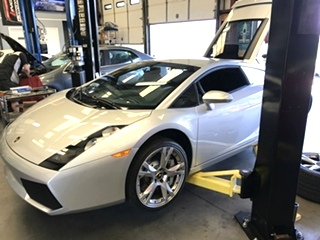 Lamborghini Gallardo Factory Service Knoxville Tennessee
